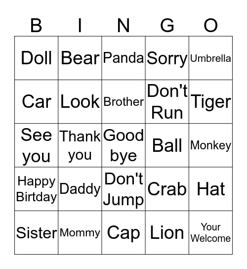 Beeno 2 May 14th Bingo Card